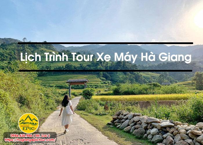 Lịch Trình Tour Xe Máy Hà Giang