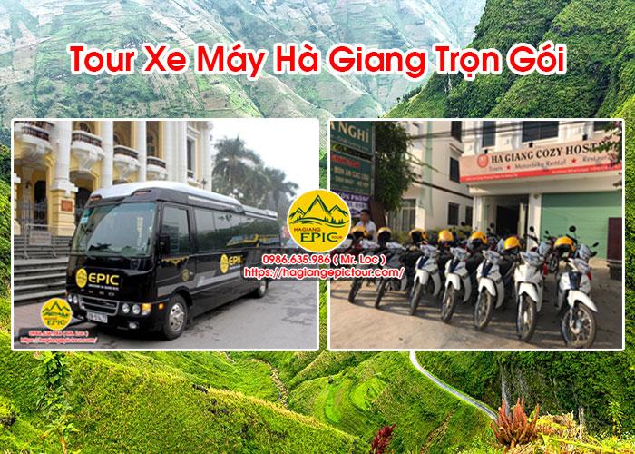 Tour Xe Máy Hà Giang Trọn Gói