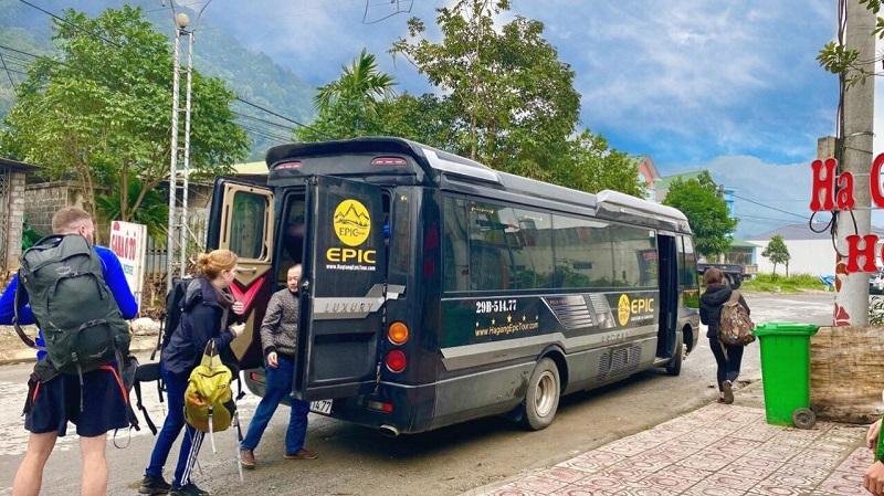 thuê xe ô tô du lịch Hà Giang